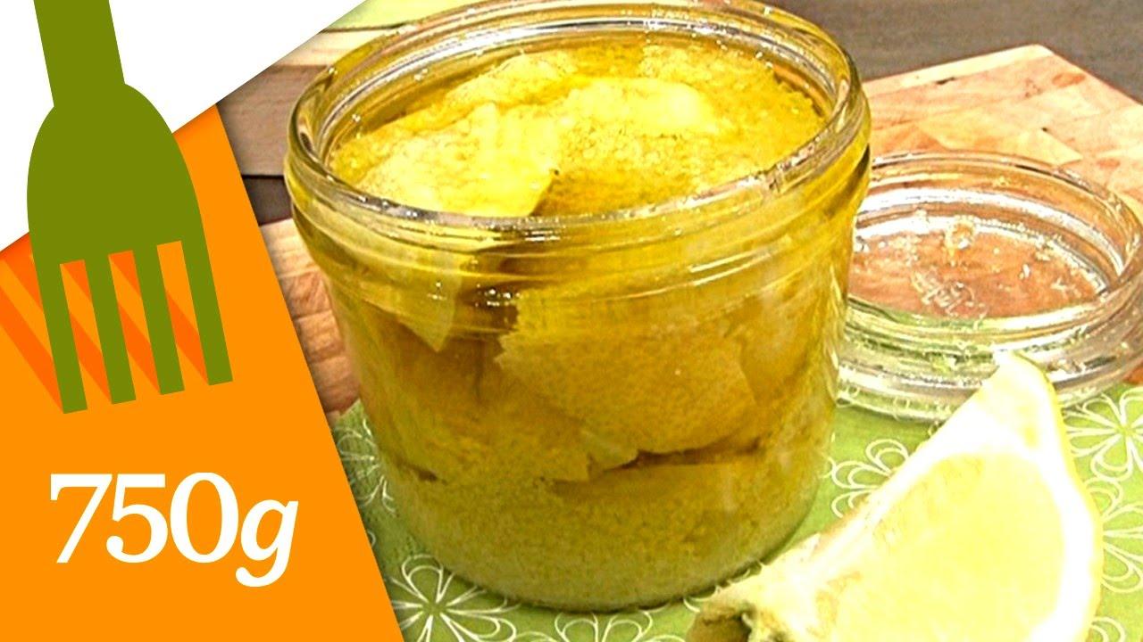 Citrons en bocal
