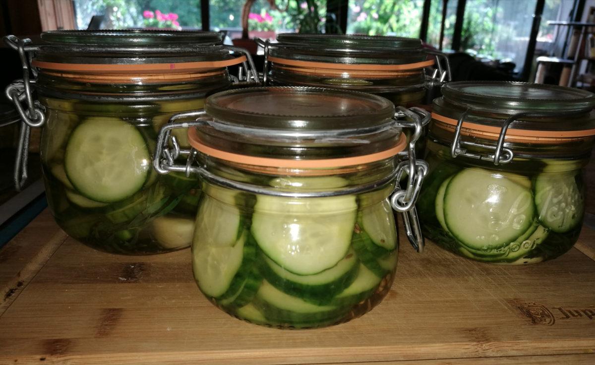 Pickles en conserve